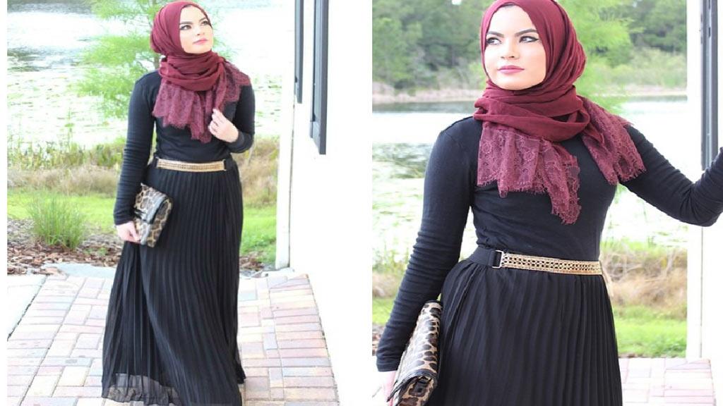 صوره ازياء سهرة سعودية , ملابس سعوديه للمحجبات وللسهرات