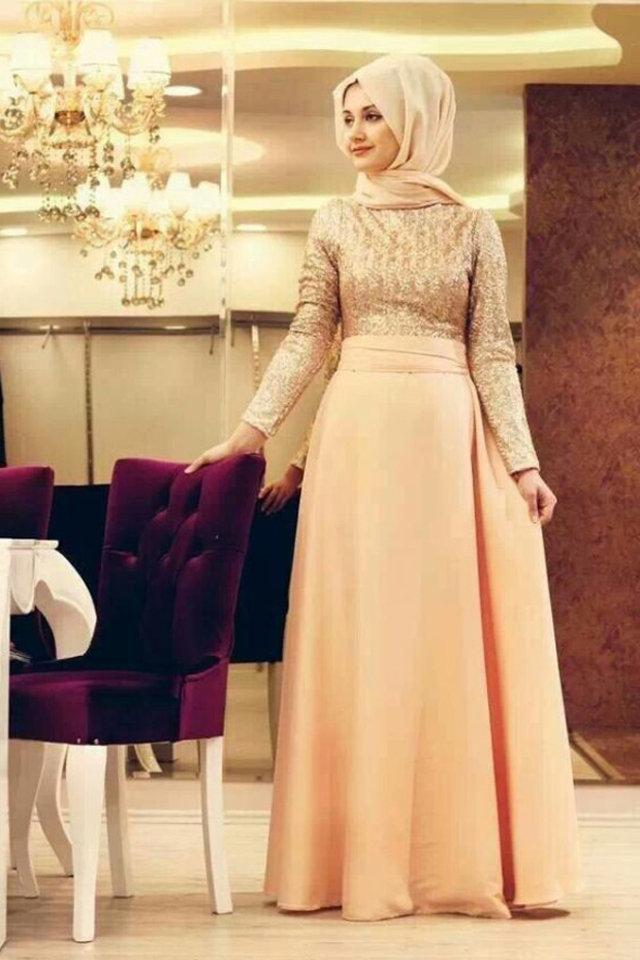 بالصور ازياء سهرة سعودية , ملابس سعوديه للمحجبات وللسهرات 104 5