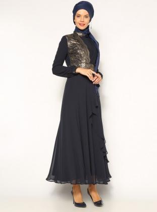 بالصور ازياء سهرة سعودية , ملابس سعوديه للمحجبات وللسهرات 104 8