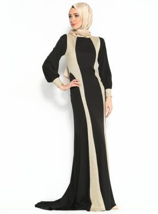 بالصور ازياء سهرة سعودية , ملابس سعوديه للمحجبات وللسهرات 104 9