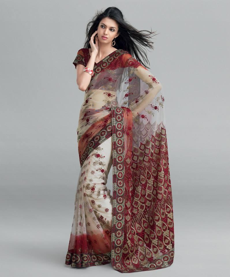 بالصور ازياء هندية للسهرات , اجمل اطلاله بالساري الهندي 112 5