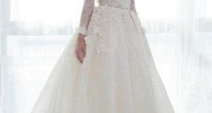 صوره احدث تصميمات فساتين الافراح , تالقي يوم زفافك