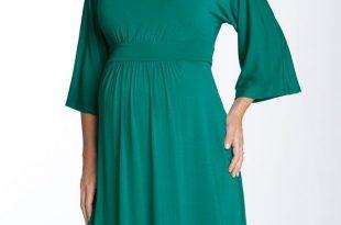 بالصور فساتين حوامل ناعمه , اجمل كولكشن لفساتين الحوامل 160 10 310x205