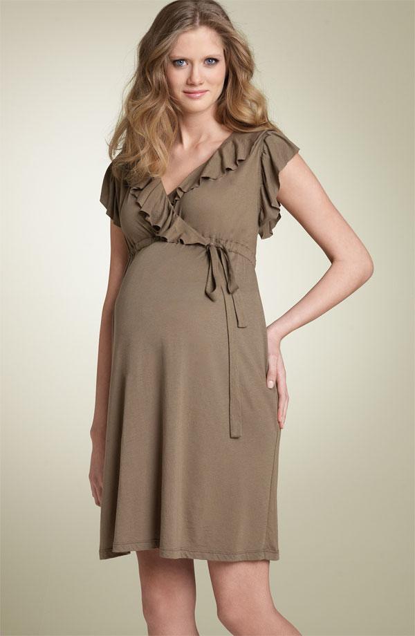 بالصور فساتين حوامل ناعمه , اجمل كولكشن لفساتين الحوامل 160 4