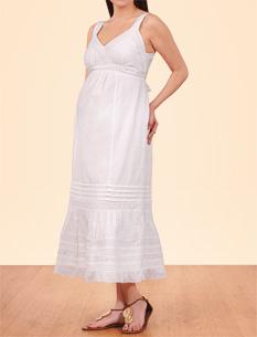 بالصور فساتين حوامل ناعمه , اجمل كولكشن لفساتين الحوامل 160 7
