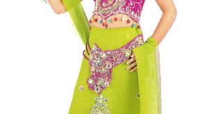فساتين هندية للصغار , اروع لافساتين الهنديه