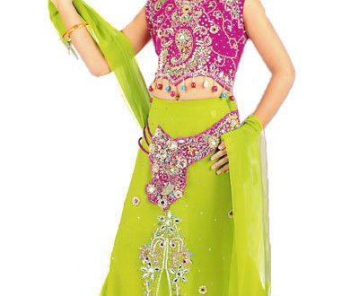 صور فساتين هندية للصغار , اروع لافساتين الهنديه