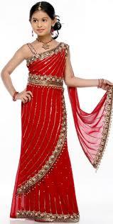 بالصور فساتين هندية للصغار , اروع لافساتين الهنديه 161 4