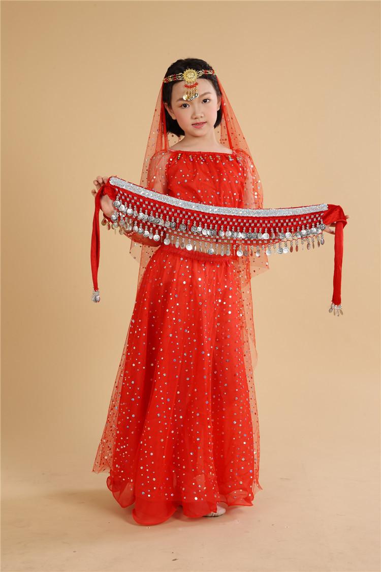 بالصور فساتين هندية للصغار , اروع لافساتين الهنديه 161 7