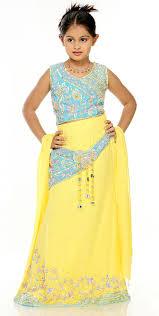 صوره فساتين هندية للصغار , اروع لافساتين الهنديه