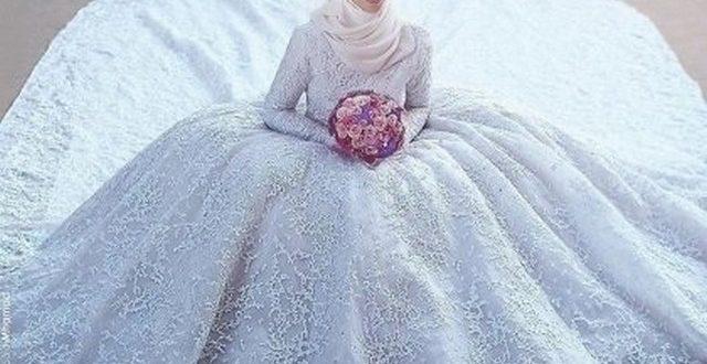 صورة فساتين افراح 2020 , منفوشه في غايه الجمال