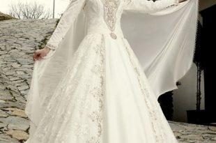 بالصور فساتين تركية زفاف , اجمل الفساتين التركيه للمحجبات 169 10 310x205