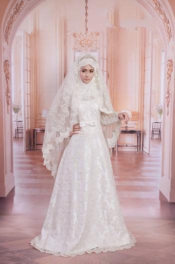 بالصور فساتين تركية زفاف , اجمل الفساتين التركيه للمحجبات 169 5