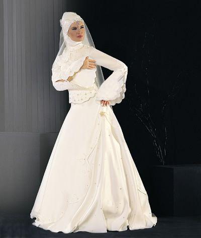بالصور فساتين تركية زفاف , اجمل الفساتين التركيه للمحجبات 169 9