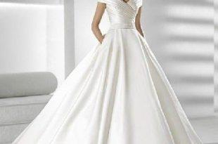 صوره صور فساتين زفاف سورية , تالقي يوم زفافك