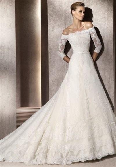 بالصور صور فساتين زفاف سورية , تالقي يوم زفافك 172 2