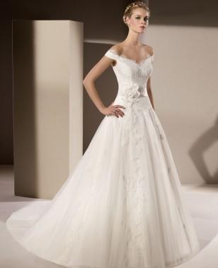 بالصور صور فساتين زفاف سورية , تالقي يوم زفافك 172 3