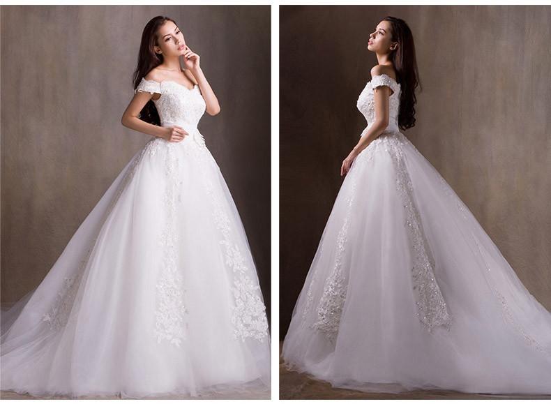 بالصور صور فساتين زفاف سورية , تالقي يوم زفافك 172 4