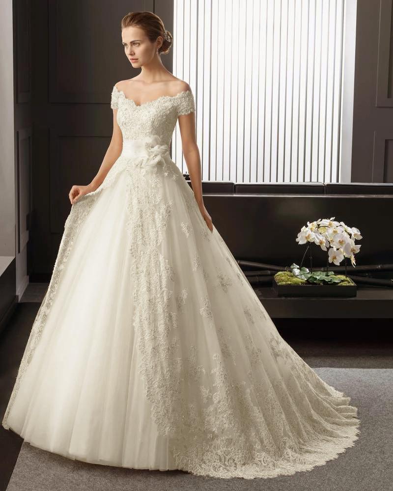 بالصور صور فساتين زفاف سورية , تالقي يوم زفافك 172 5