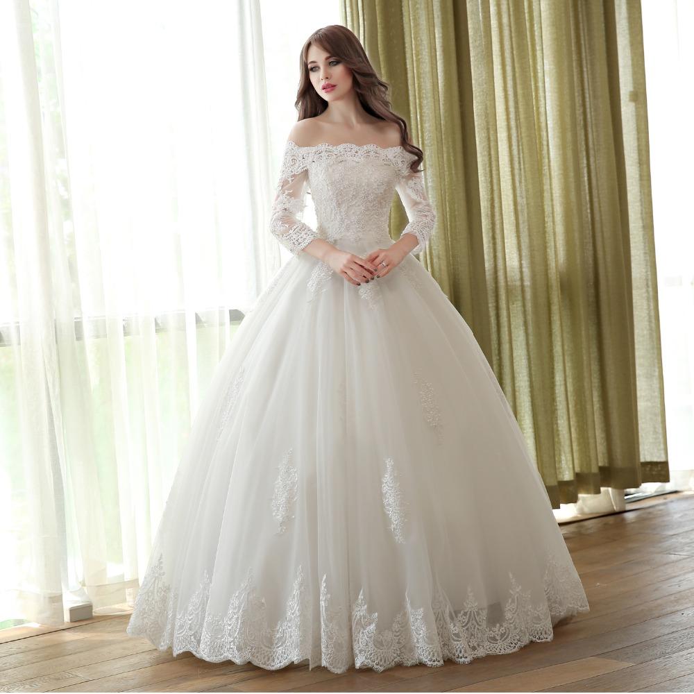 بالصور صور فساتين زفاف سورية , تالقي يوم زفافك 172 7