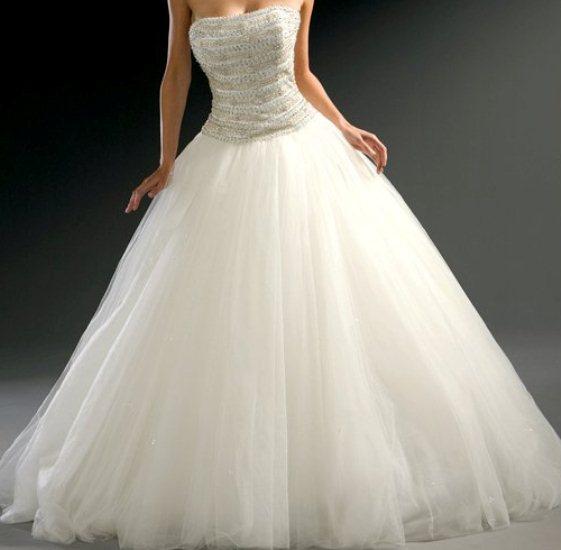 بالصور فساتين زفاف رهيد , تالقي في يوم فرحك 228 3