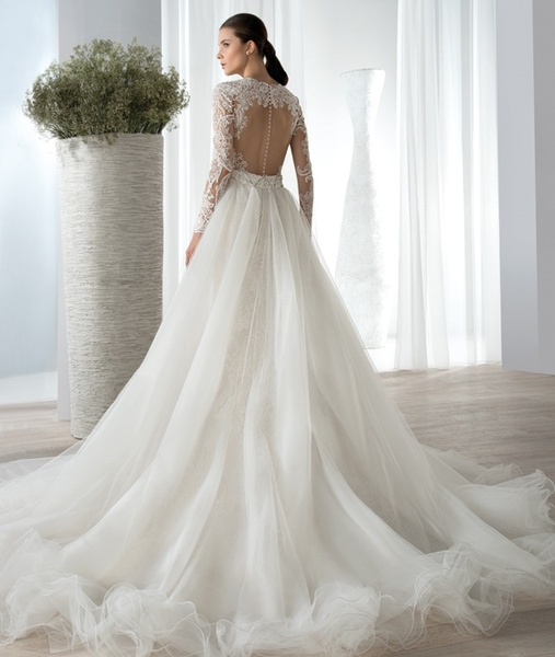 بالصور فساتين زفاف رهيد , تالقي في يوم فرحك 228 4