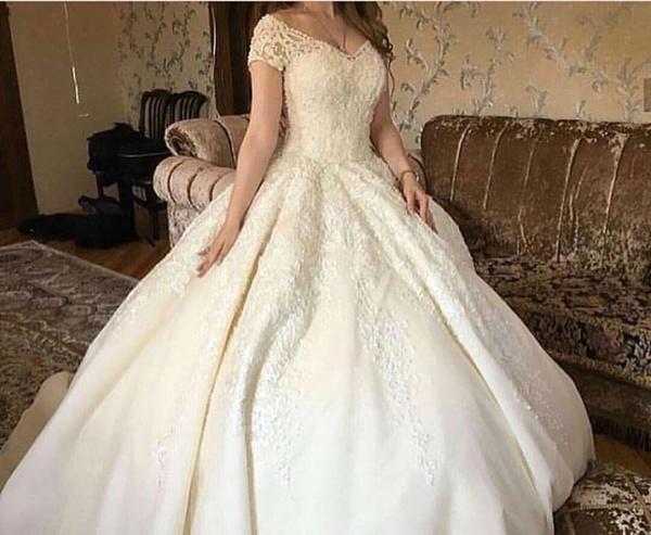 بالصور فساتين زفاف رهيد , تالقي في يوم فرحك 228 7