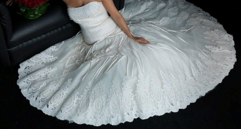 بالصور فساتين زفاف رهيد , تالقي في يوم فرحك 228 8