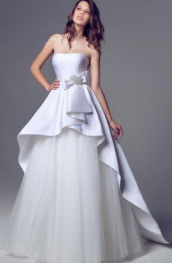 صوره موديلات فساتين راقيه وناعمه , نعومة وجمال الفساتين