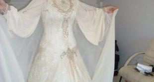 بالصور فساتين زفاف خليجية فخمه , اناقة الانوثه للعروسه الخليجيه 375 10 310x165