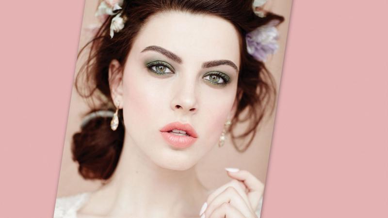 بالصور دللى جمالك يوم زفافك مع ابداعات rose clara , مكياج ناعم يوم الفرح 738 2