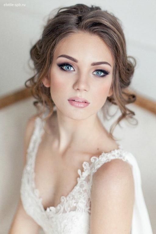 بالصور دللى جمالك يوم زفافك مع ابداعات rose clara , مكياج ناعم يوم الفرح 738 8