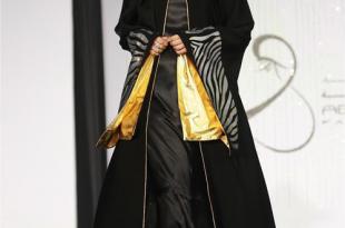 صورة اجمل موديلات العبايات اروع كولكشن عبايات 2020 , ملابس محجبات عالموضة