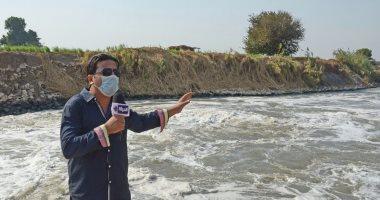 صورة تلوث نهر النيل , القاء مخلفات في شريان الحياة
