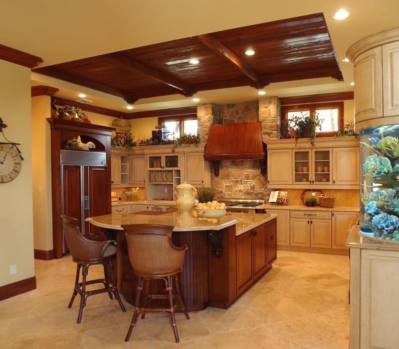 صوره اروع المطابخ , ديكورات خطيرة وعصرية للمطبخ