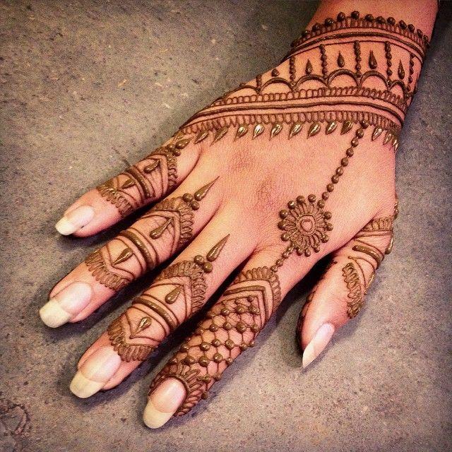 بالصور نقش الحناء , اجمل الرسومات علي الايدي للعروسة 2405 1