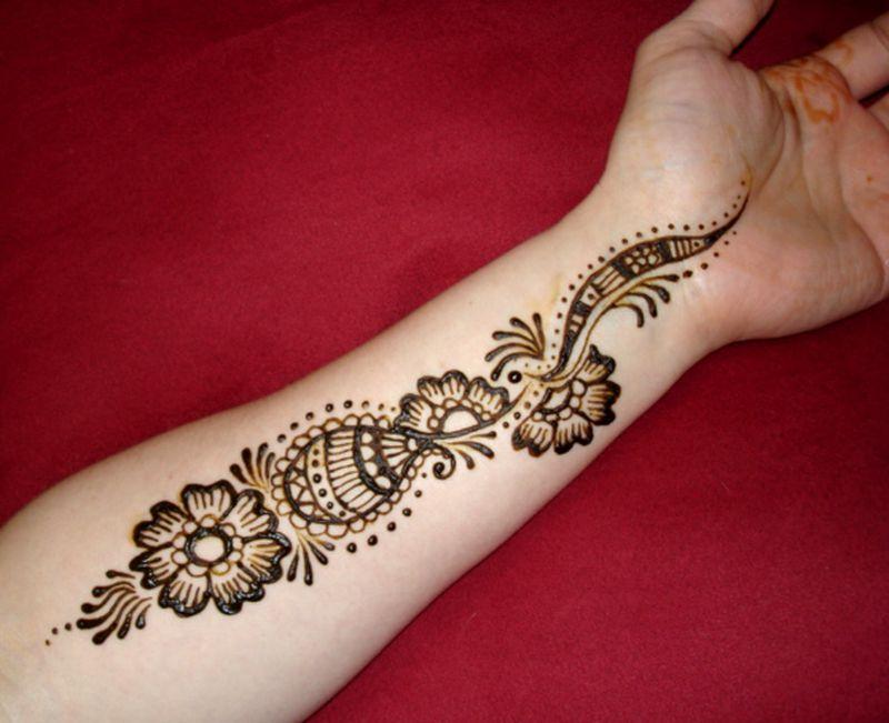 بالصور نقش الحناء , اجمل الرسومات علي الايدي للعروسة 2405 4