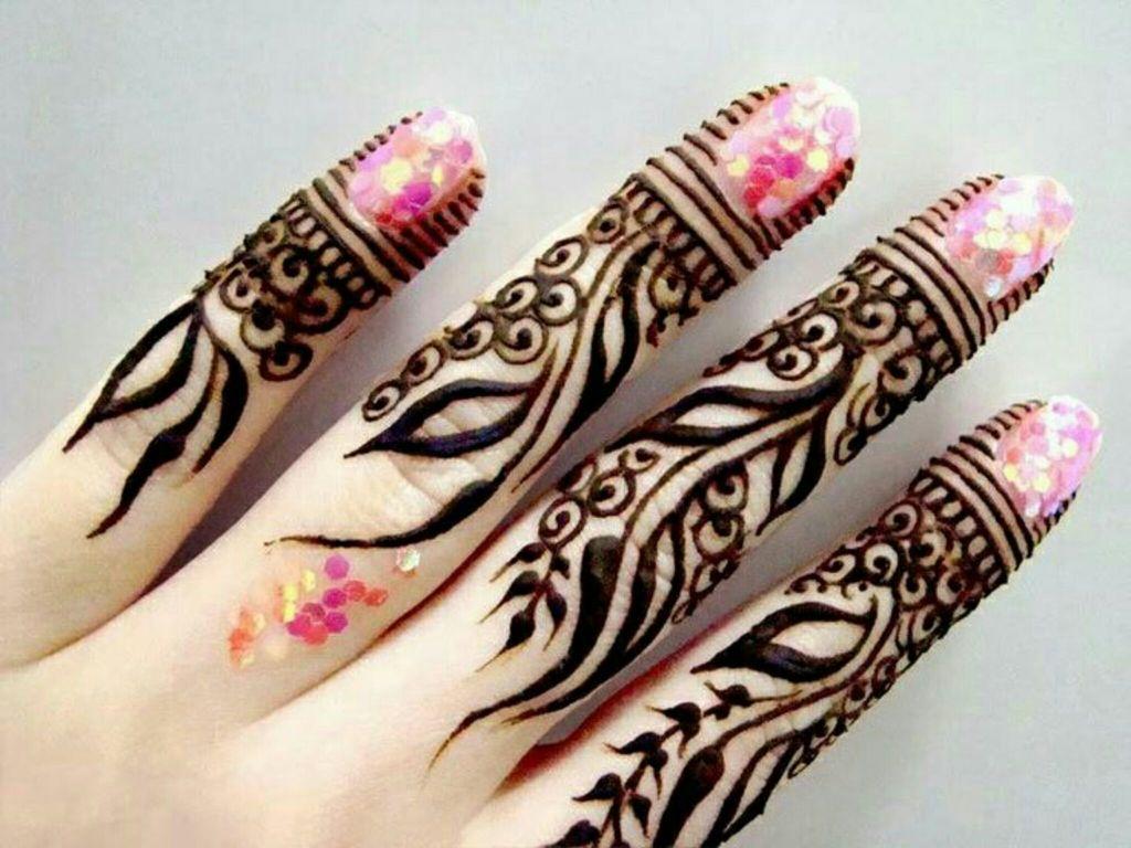 بالصور نقش الحناء , اجمل الرسومات علي الايدي للعروسة 2405 8