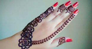 صور نقش الحناء , اجمل الرسومات علي الايدي للعروسة
