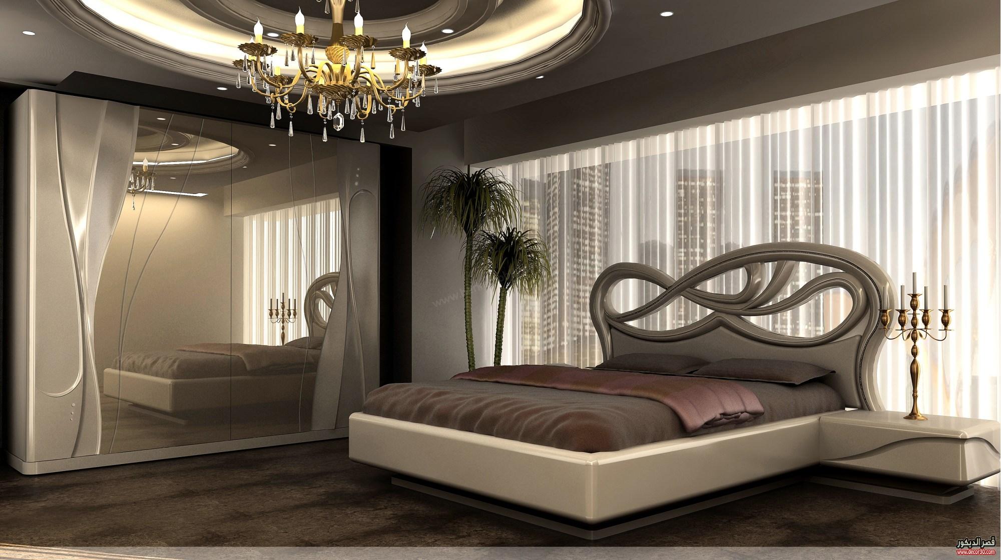 بالصور غرف نوم حديثه , ديكورات مميزة لاحلي غرفة رومانسية 2427 2