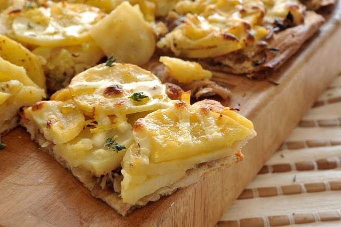 صورة بطاطس بالبشاميل , اطباق مختلفة من البطاطس