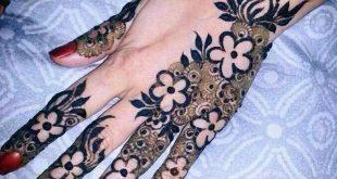 بالصور نقش خليجي ناعم , لكل عروسة يدك تحفة فنية مميزة 2484 9 310x165