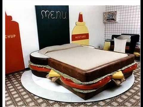 صور غرف نوم غريبة , موديلات لاوض النوم عجيبة