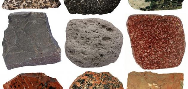 صوره انواع الصخور , هناك ثلاث انواع لصخور