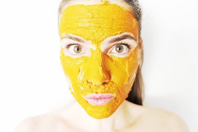 صورة فوائد الكركم للوجه , الكركم لزيادة نطارة الوجه