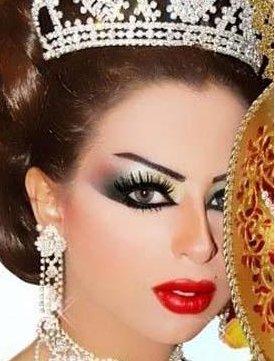 صورة اجمل مكياج عرايس , مكياج بسيط وطبيعي للعرائس