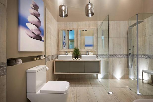 صور ديكورات حمامات 2019 , احدث صيحة في ديكورات حمامات روعه