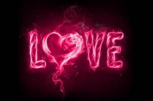 صوره كلمة بحبك مزخرفة , اجمل كلمه في الوجود بحبك