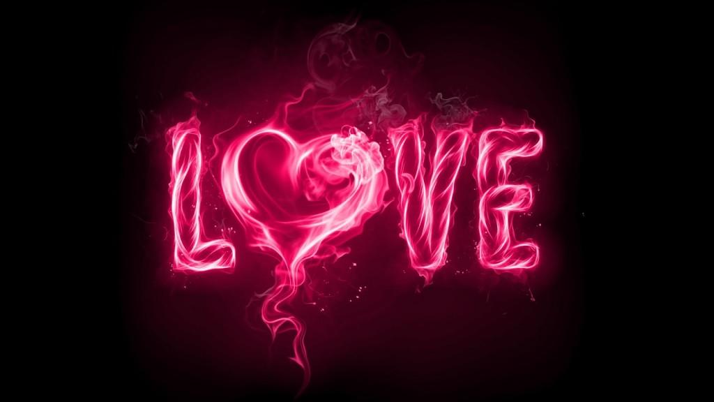 صورة كلمة بحبك مزخرفة , اجمل كلمه في الوجود بحبك