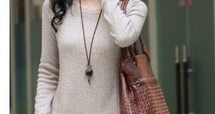 ازياء كورية شتوية , اجمل ملابس للبنات الكوريات